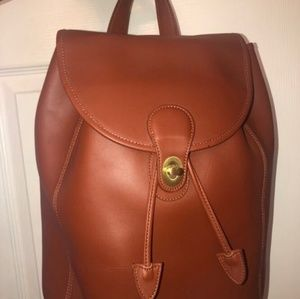 Daisyu leather ware genuine leather backpack NWT